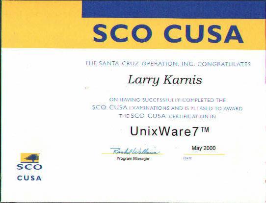 SCO UNIXWare 7